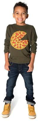 Appaman Pizza Pie Graphic Long Sleeve Tee (Toddler, Little Boys, & Big Boys)