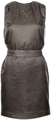 Rick Owens belted mini dress