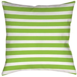 IDG Bright Stripes Kiwi Indoor Pillow