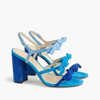 J.Crew Stella bow heels (100mm)