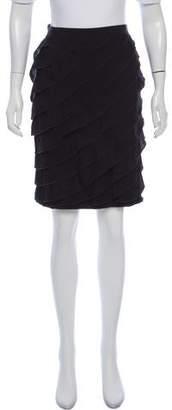 Paule Ka Wool Layered Skirt