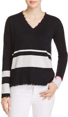 LISA TODD The Rebel Distressed Cashmere Sweater