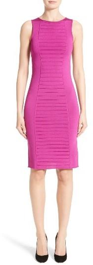Women's Armani Collezioni Micro Pipe Knit Dress