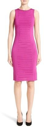 Women's Armani Collezioni Micro Pipe Knit Dress $875 thestylecure.com