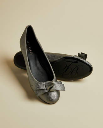 Ted Baker ANTHIAA Bow detail ballerina pumps