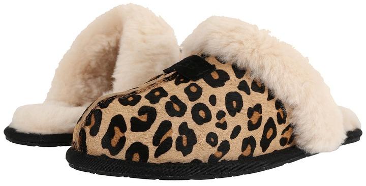 UGGUGG Scuffette Calf Hair Leopard