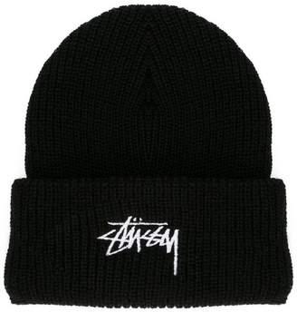 Stussy logo beanie