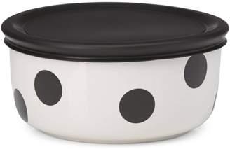 Kate Spade All in Good Taste Deco Dot 16 oz. Lidded Bowl