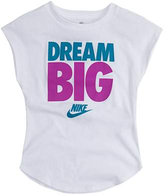 "Nike Toddler Girl Dream Big"" Graphic Tee"