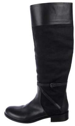 Bottega Veneta Knee-High Round-Toe Boots