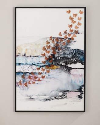 """John-Richard Collection Drift"""" Painting on Canvas Art"""