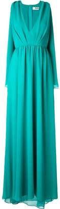 MSGM draped evening dress