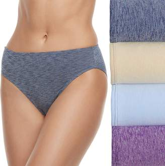 Fruit of the Loom Women's 4-pack Ultra Flex Hi-Cut Panties 4DDFHCS