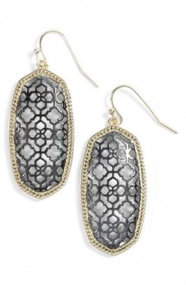 Women's Kendra Scott Elle Openwork Drop Earrings $60 thestylecure.com