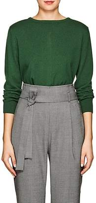 Barneys New York Women's Button-Back Cashmere Cardigan - Green
