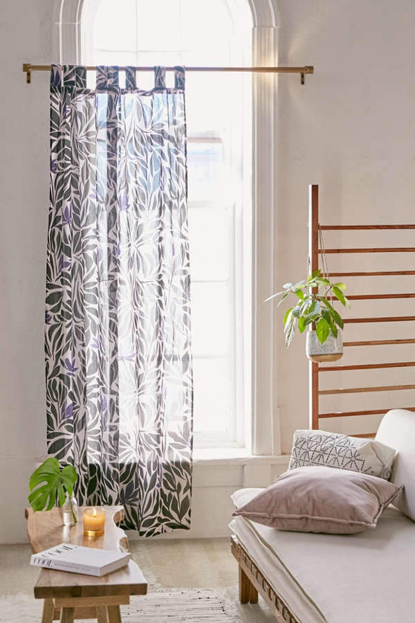 Nora Floral Window Curtain