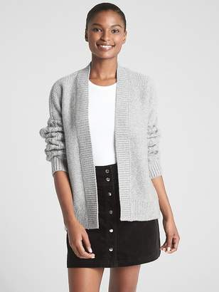 Gap Chunky Mix-Knit Cardigan Sweater
