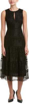 Nanette Lepore Free Falling Midi Dress