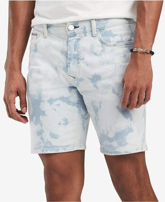 """Tommy Hilfiger Men's Bleached Denim 6"""" Shorts"""