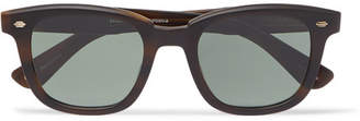 Garrett Leight California Optical Calabar 49 Square-Frame Matte-Acetate Sunglasses