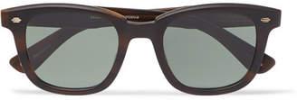 Garrett Leight California Optical Calabar 49 Square-frame Matte-acetate Sunglasses