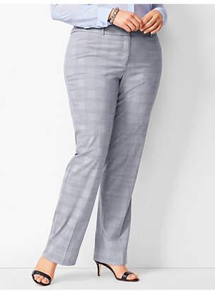 86a5454e660c8 Plus Size Glen Plaid Pants - ShopStyle
