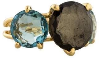 Ippolita 18K Rock Candy Gelato 3-Stone Ring in Tartan