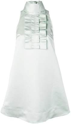 ALEXACHUNG Alexa Chung ruffle front shift dress