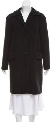 Philosophy di Alberta Ferretti Wool Knee-Length Coat