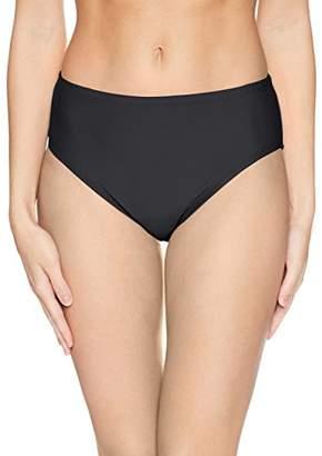 Ellen Tracy Women's Bikini Bottom with Tummy Control