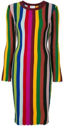 Milly striped knit dress