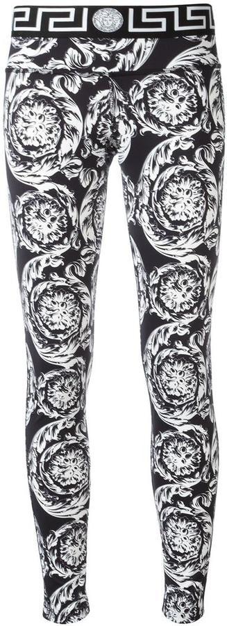 VersaceVersace Ice Baroque leggings