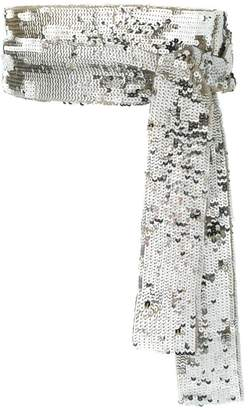 ATTICO embroidered sequinned belt