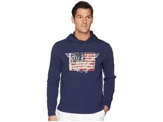 Polo Ralph Lauren Slub Jersey American Pullover Hood T-Shirt