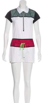 Monreal London Colorblock Short-Sleeve Romper