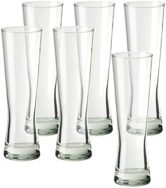 Global Amici Amici By Amici by Monaco 6-pc. Tall Beer Glass Set