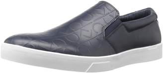 Calvin Klein Men's Ivo Brushed Emboss Slip-on Loafer