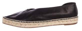 Celine 2017 Babouche Leather Espadrilles