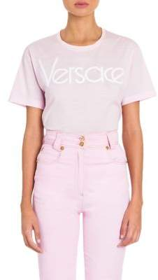 Versace Jersey Logo Tee