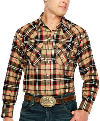 Ely Cattleman Snap Flannel Shirt - Big & Tall
