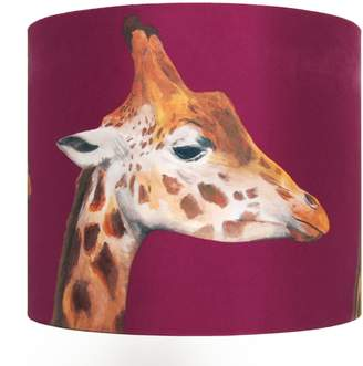 Katie & the Wolf - Giraffes Lampshade Large