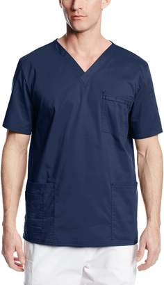 Cherokee Unisex Big-Tall Workwear Scrubs Stretch V-Neck Top