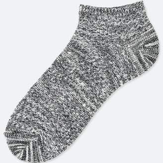 Uniqlo Men's Pique Short Socks