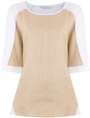 M·A·C Mara Mac bicolor raglan sleeves blouse