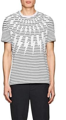 Neil Barrett Men's Lightning-Bolt-Print Cotton T-Shirt