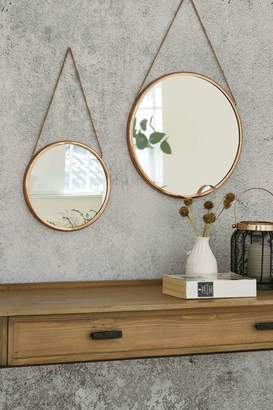 Next Set of 2 Finley Copper Mirrors