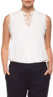 Dex Lace Sleeveless Top