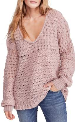 Free People Crashing Waves Pullover