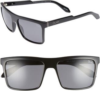 Quay Let It Run 57mm Polarized Sunglasses