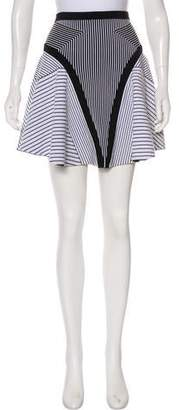 Ohne Titel Striped Mini Skirt